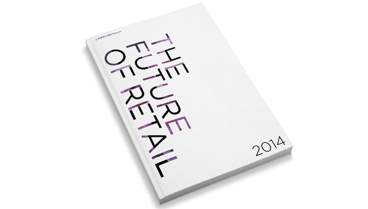 PSFK The Future Of Retail Cover